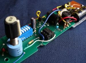 dc motor controller wand