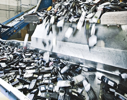 recycling cell phones