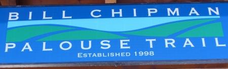 Chipman Trail sign