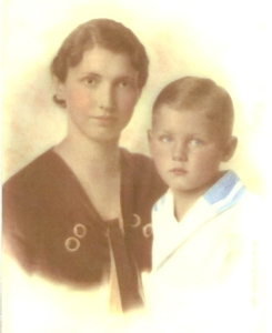 Ethel and her son Fred