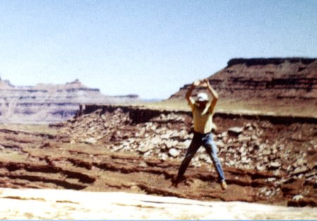 1980 in Canyonlands National Park, Utah