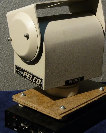 pan-tilt for video camera