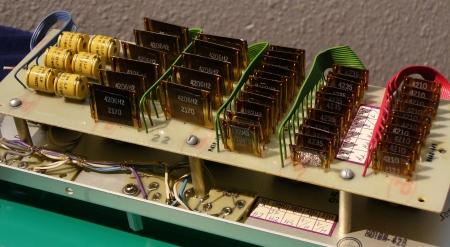 voltage divider back side
