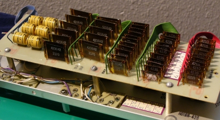 voltage divider back side