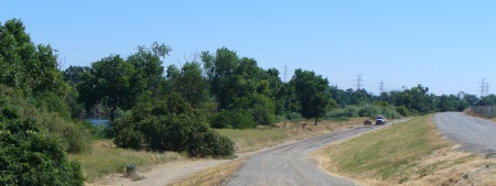 levee trail and lower trail