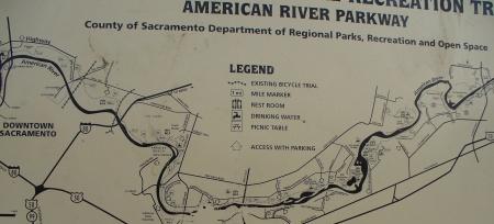 american river parkway map