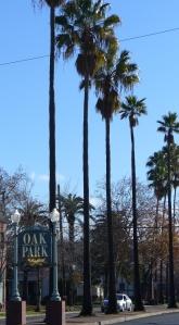 oak park sign