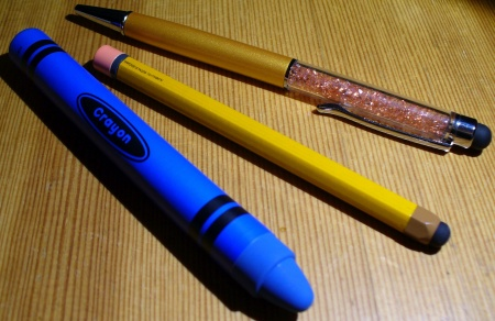 styluses for touch screens