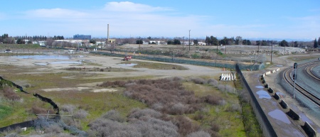 portion of the Railyards property, Sacramento