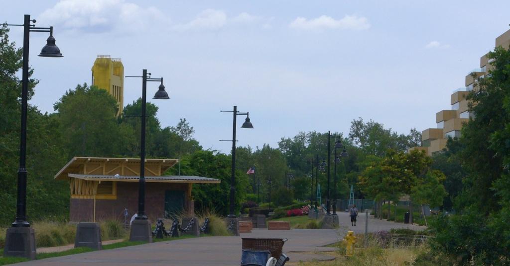 West Sac waterfront walk