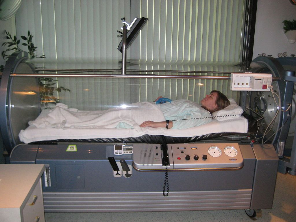 hyperbaric chamber single patient
