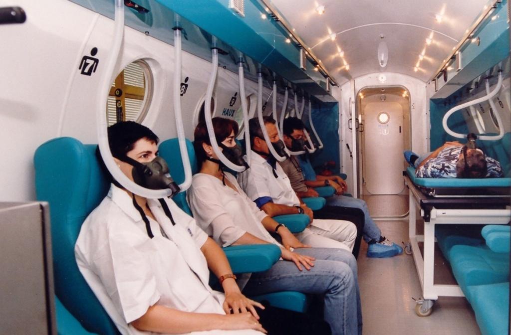 hyperbaric chamber - multi-person