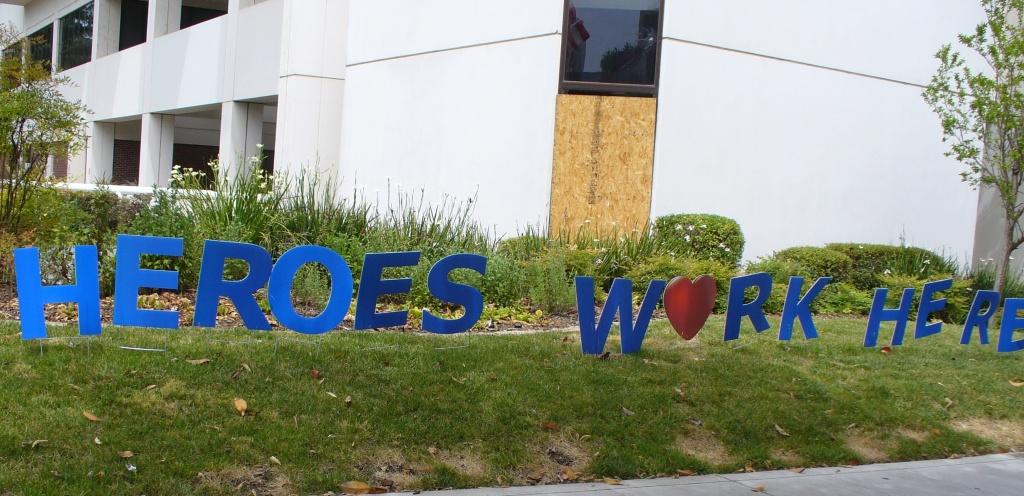 Heroes work here - Sutter