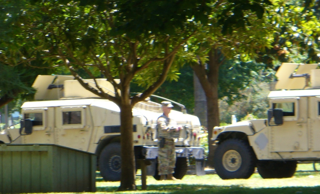 National Guard presence at the Capitol